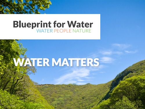 blueprint for water water matters
