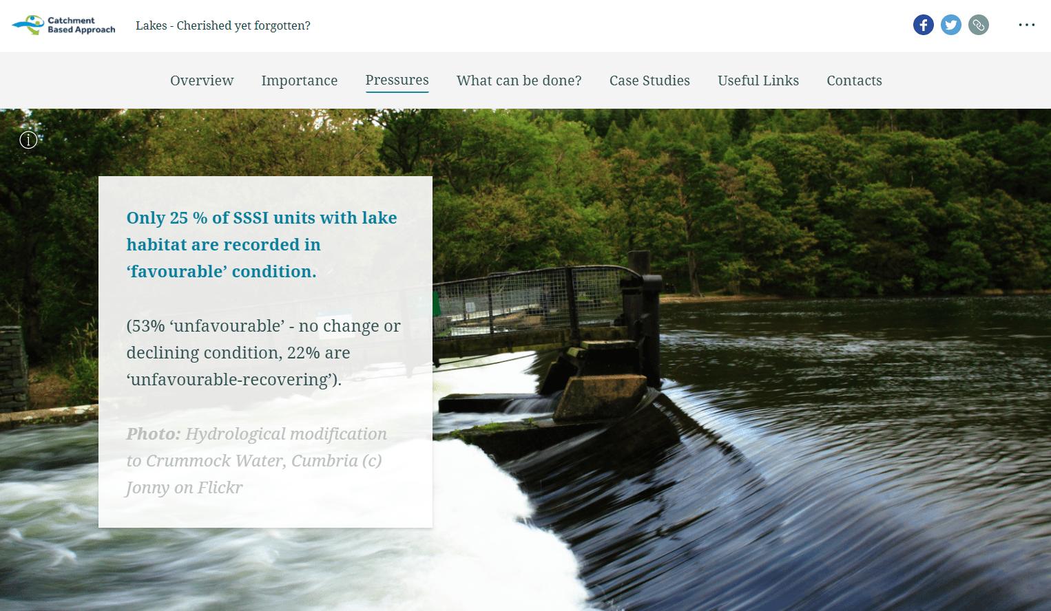 Image of Lakes StoryMap