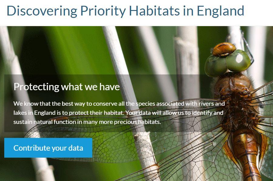 Image of FBA Priority Habitats website